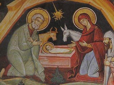 Иконы Афона. Рождество Христово