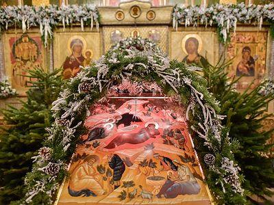 Рождество Христово в Сретенском монастыре