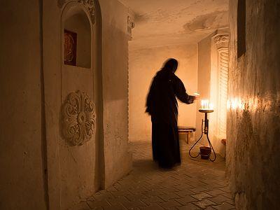 Спасский женский монастырь в Костомарово