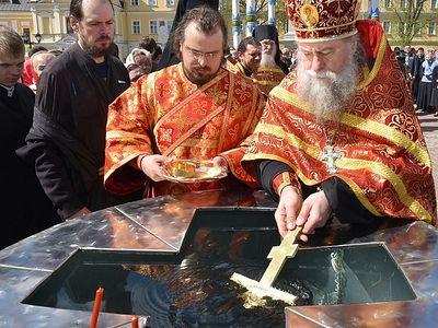 Празднование иконы Божией Матери «Живоносный Источник» в Троице-Сергиевой Лавре
