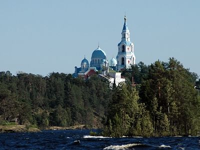 Rejoice O Valaam, beloved of St. Herman!