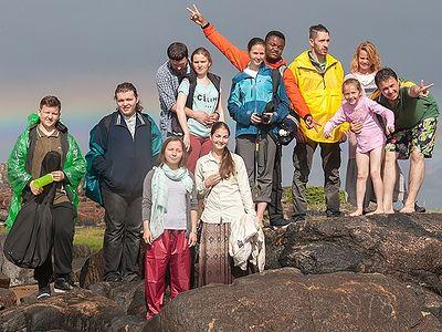 Поездка православной молодежи на русский Север