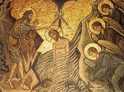 The Baptism of the Lord: Icons and Frescoes