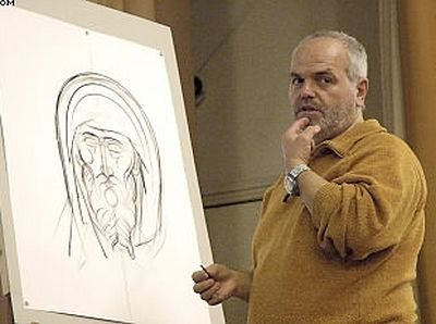 Георгиос Кордис: «Невозможно стать хорошим иконописцем без личного опыта церковной жизни»