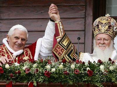 Папа, Патриарх и… объединение Церквей