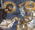 Божественная литургия Великого четвертка и особые чинопоследования этого дня: освящение мира, омовение св. престола, общее маслоосвящение, умовение ног