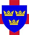 Три короны трех королей Восточной Англии