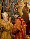 Всенощное бдение накануне дня памяти священномученика Илариона, архиепископа Верейского, в Сретенском монастыре