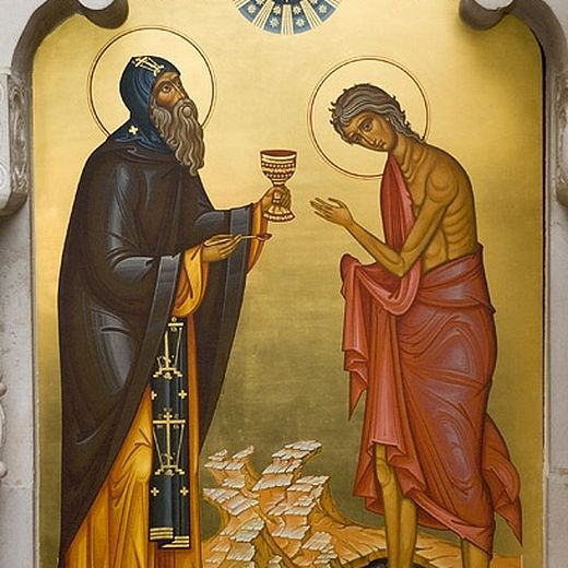 Wednesday of the Fifth Week of Great Lent