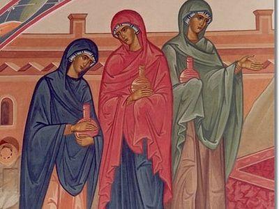 The Faith of the Myrrhbearing Women
