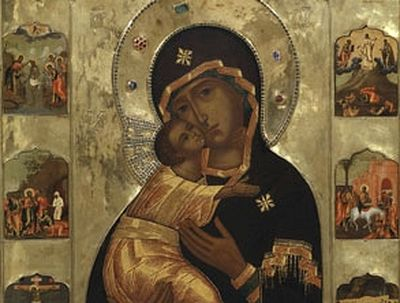 Sretensky Monastery Celebrates the Feast of the Vladimir Icon of the Mother of God