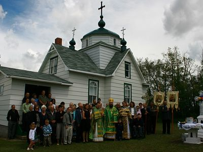 Church in Foam Lake, Canada Marks 100 year Anniversary