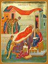 Всенощное бдение накануне Рождества Предтечи Господня Иоанна в Сретенском монастыре