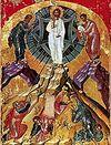 Всенощное бдение в Сретенском монастыре накануне Преображения Господа Бога и Спаса нашего Иисуса Христа.