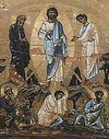 Божественная литургия в Сретенском монастыре в праздник Преображения Господня.