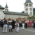 Фотогалерея. Праздник Успения в румынском монастыре Путна