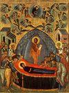 Божественная литургия в Сретенском монастыре в праздник Успения Божией Матери