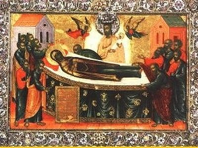 Translation of the Dormition Icon of the Mother of God from Constantinople to the Kiev Caves