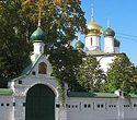 Божественная литургия в Сретенском монастыре в день памяти прп. Сергия Радонежского
