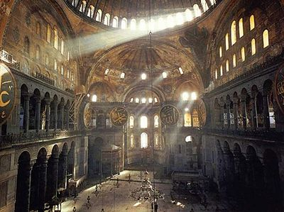 Liturgy at Hagia Sophia plan cancelled after statement from Turkish Foreign Ministry
