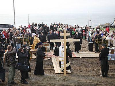 Patriarch Kirill preaches among the Aleuts