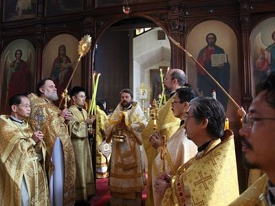 40th anniversary of autonomous status of the Orthodox Church of Japan is celebrated in Osaka