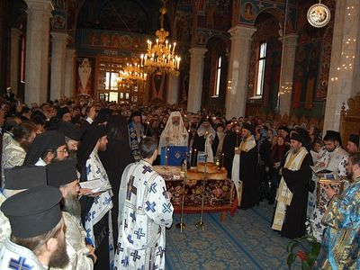 His Beatitude Patriarch Daniel of Romania Celebrated The Remembrance Service For Rev. Hieroschimonk Paisie Olaru, At Sihastria Monastery
