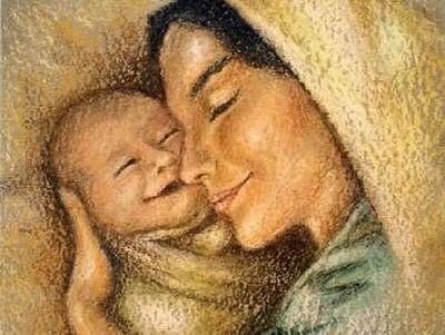 Нет друга нежнее матери