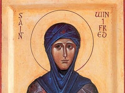 Saint Winifred and her Holy Spring