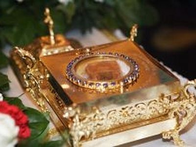 Relics of Great Martyr Catherine brought to Moscow, prayers throughout the night