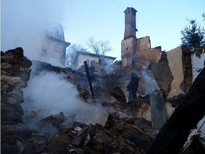 Serres monastery fire damage assessed at 2 million euros