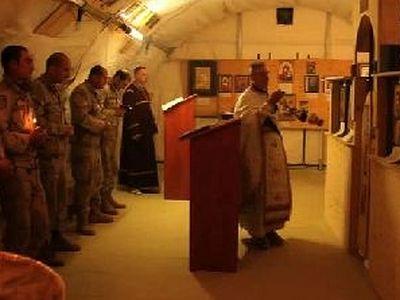American, Georgian chaplains celebrate Nativity in Afghanistan