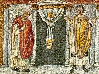 Неделя о мытаре и фарисее. <BR>Евангелие об истинном и мнимом богомольце