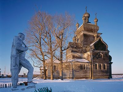 Wooden Churches in the Russian North