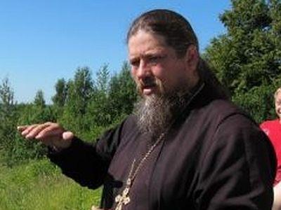Священник в советском селе