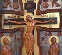 Божественная литургия в Сретенском монастыре на Воздвижение Честного и Животворящего Креста Господня