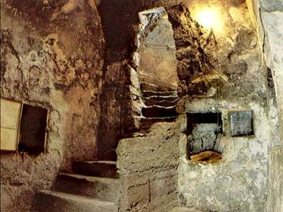 In the Tomb of Lazarus