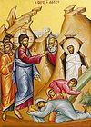 Божественная литургия в Лазареву субботу в Сретенском монастыре