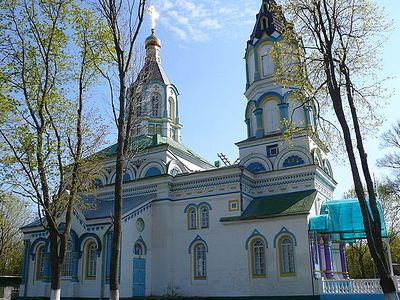 The only church open in Chernobyl zone shows the minimum radiation level