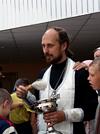 Дети-инвалиды помолились целителю Пантелеимону
