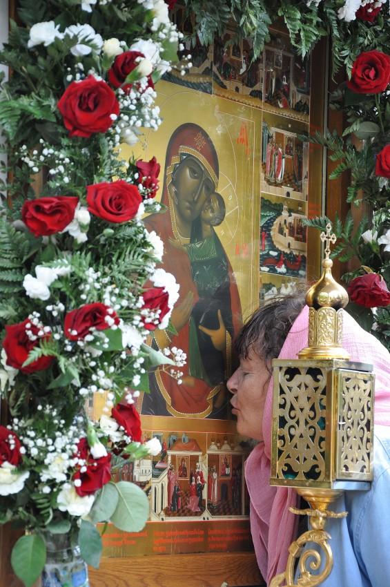 Список Толгской иконы Божией Матери в кедровнике