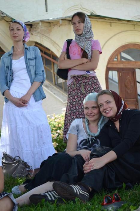 Участники Лагеря на экскурсии