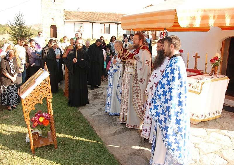 Божественная литургия. Великий вход