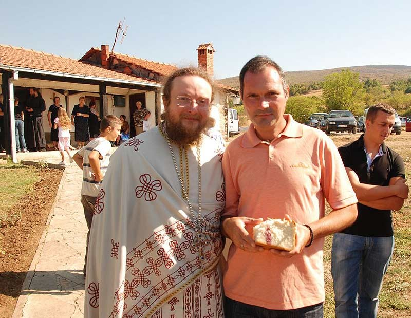 Архимандрит Савва, наместник монастыря Выские Дечаны