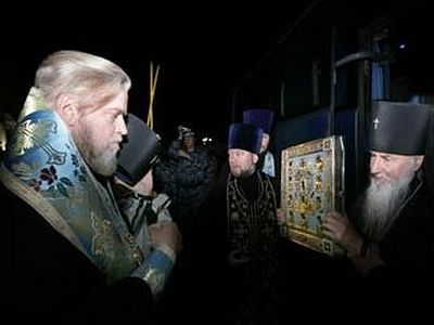 The Kursk-Root Icon of the Mother of God arrives in Kursk Diocese