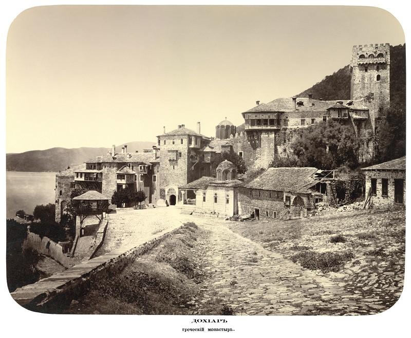 Дохиар. Греческий монастырь