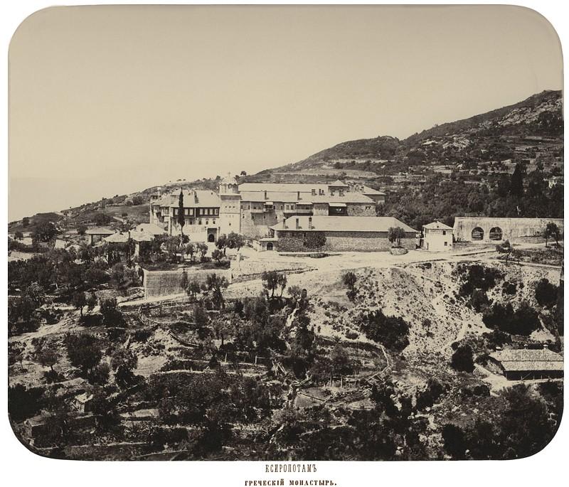 Ксиропотам. Греческий монастырь