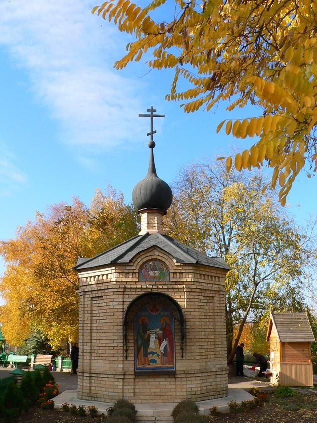 Часовня преподобных Зосимы и Савватия Соловецких