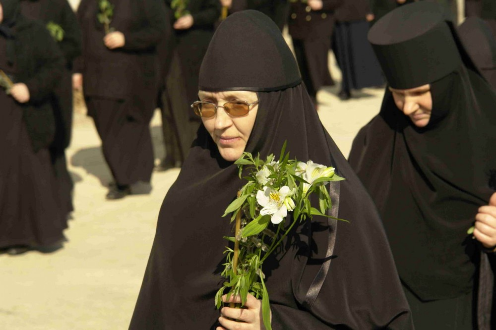 Крестный ход в Вербное воскресенье