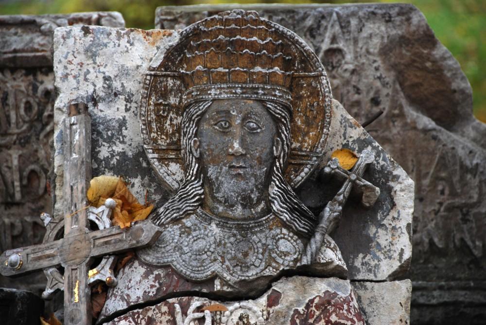 Господь Вседержитель. Фрагмент надгробия